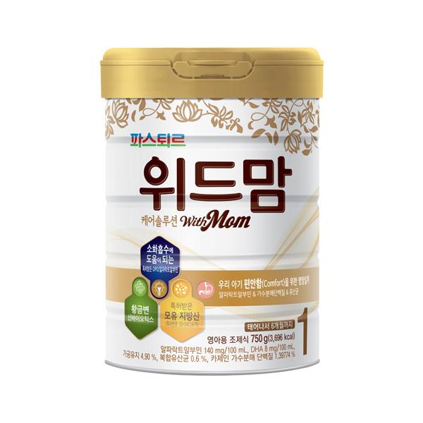 위드맘 케어솔루션 1단계 6캔_정기