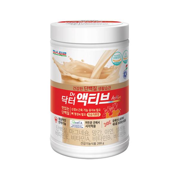 파스퇴르 맛있는 단백질 닥터 액티브 288g